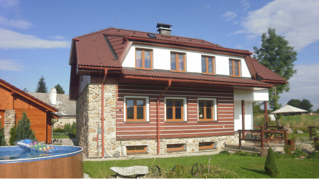 Das Böhmerwaldhaus Hrabice